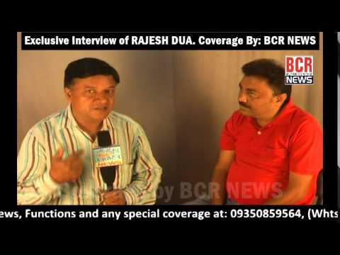RAJESH DUA INTERVIEW || BCR NEWS