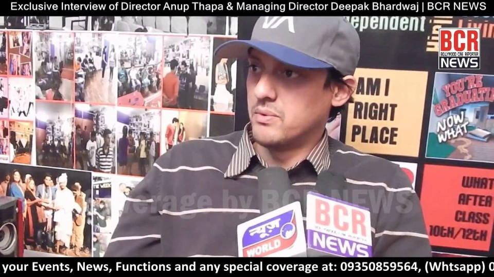 Padarpan Theaters Director Anup Thapa & Managing Director Deepak Bhardwaj | BCR NEWS