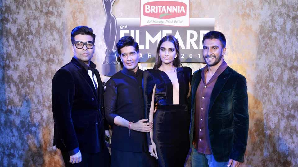 """61st Britannia Filmfare Awards 2015″ Pre-Awards Party at JW Marriott Mumbai"