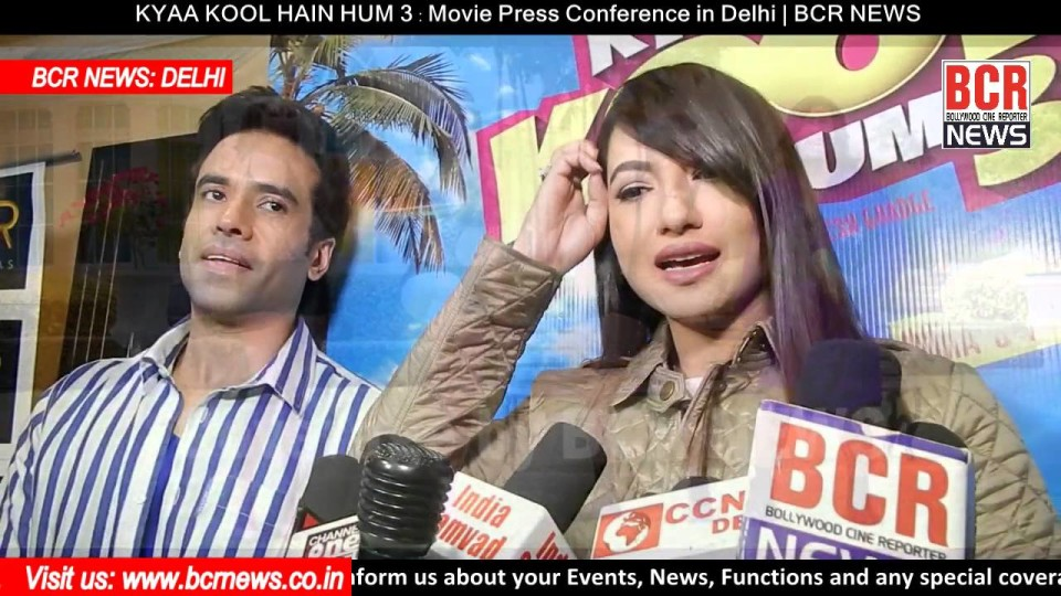 KYAA KOOL HAIN HUM 3 : Movie Press Conference in Delhi | BCR NEWS