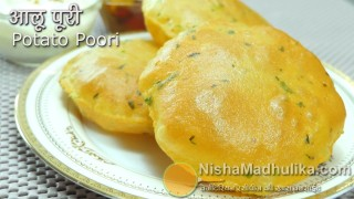 Aloo Puri Recipe – Aloo Puri Recipe In Hindi – Alu ki puri – Potato Poori