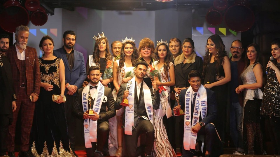 Ashish Rex and Shweta Sharma crowned winners in Next Top Models Season-1 pageant in the capital