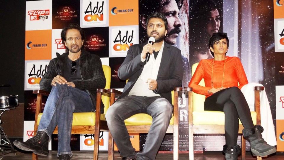"Kay Kay Menon promoted ""Vodka Diaries"" his upcoming murder mystery flick in New Delhi!"