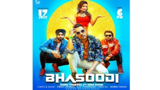 "Sonu Thukral launched the poster of ""Bhasoodi"" featuring Hina Khan!"