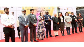 Sandeep Marwah of Marwah Studios organised 6th Global Festival of Journalism.