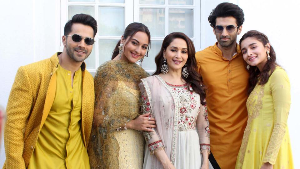 Kalank Star Cast Witnessed promoting their movie in National Capital