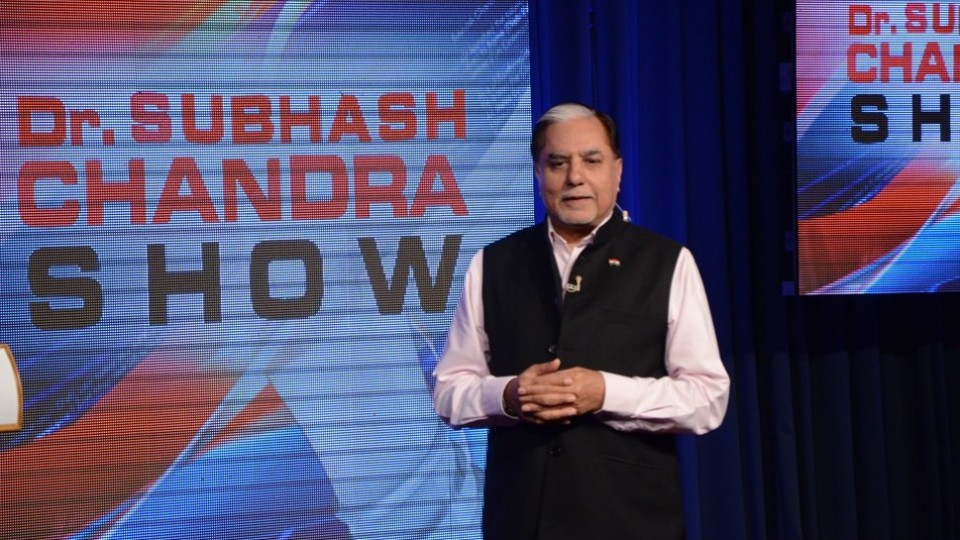 Dr. Subhash Chandra's shares five important tips on Time Management