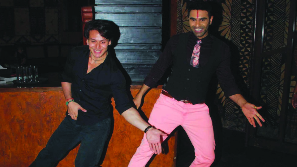 Actor Tiger Shroff performs at Sandip Soparrkar's second editionof India Dance Week with much fanfare
