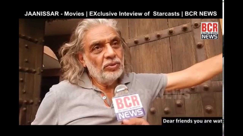 Jaanissar – Hindi Movie entire star cast interview on shooting spot
