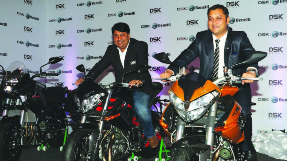 'DSK Benelli' announces Dealership Network for North IndiaUnveils DSK Benelli Superbikes in the Capital