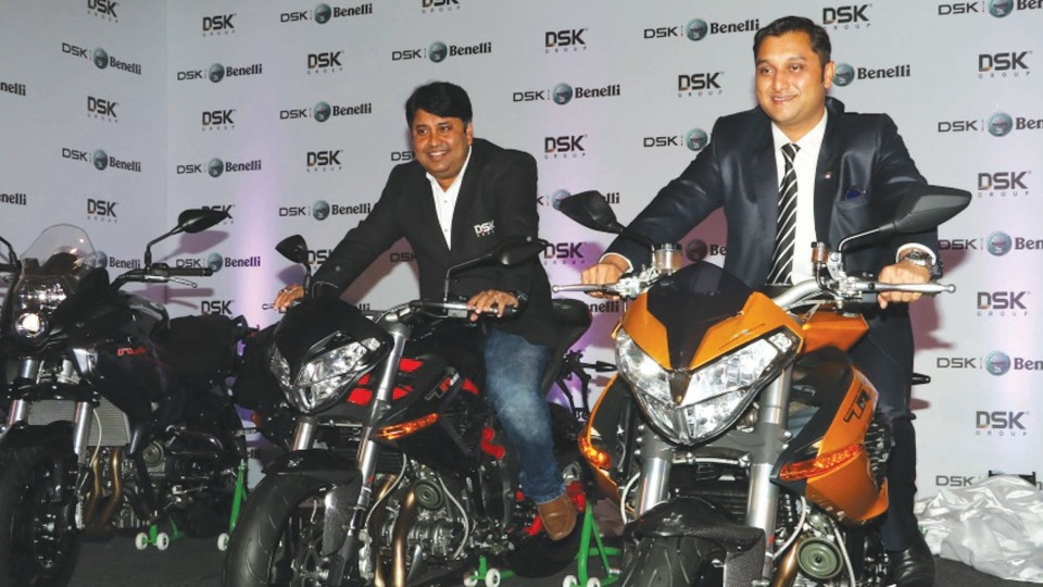 DSK Group Launch New Super Motor Bikes in Delhi | BCR NEWS