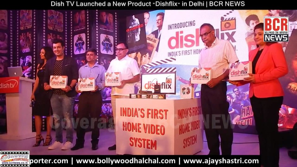"Dish TV Launched a New Product India's First Home Video System ""Dishflix"" in Delhi 