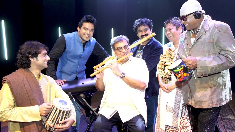 Flute virtuoso Naveen Kumar releases new album,Subhash Ghai directs the video of the title song 'Silence is Bliss'