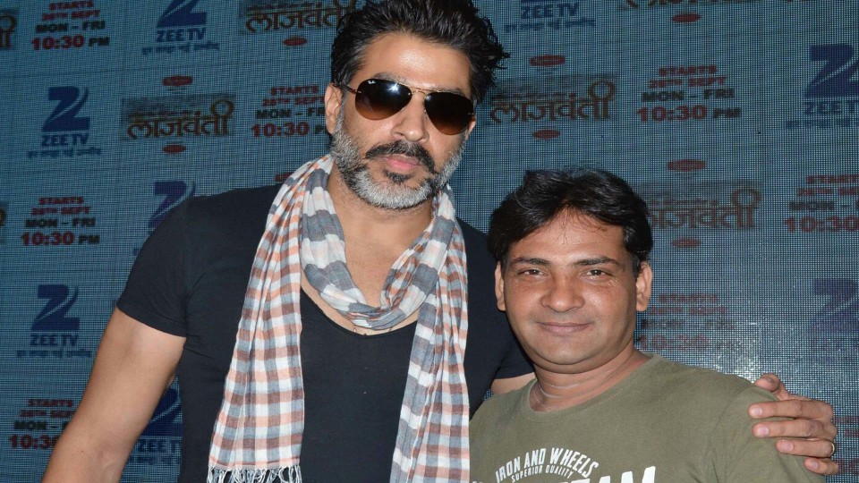 Ajay Shastri with Actor Rajat Bedi