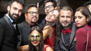 Pictures of Celebs at Fashion Director Shakir Shaikh's Theme Based Festive Party at Opa! Bar Café.