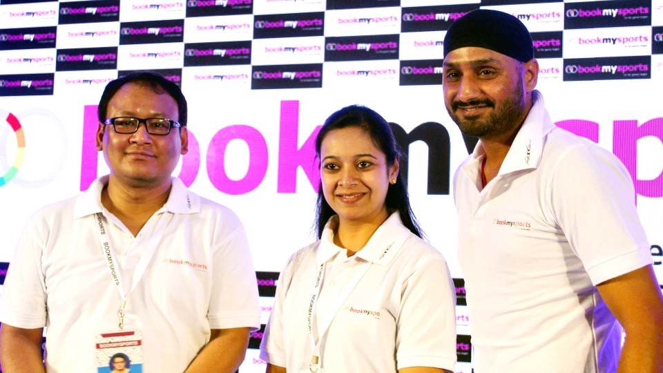 BookMySports, India's first comprehensive sports platform launched by Harbhajan Singh