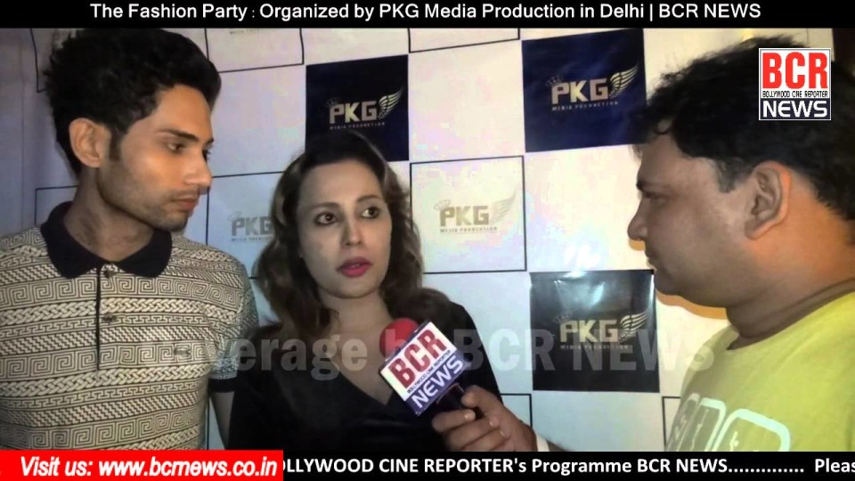 The Fashion Party | Part-2 | Organized by PKG Media Production in Delhi | BCR NEWS