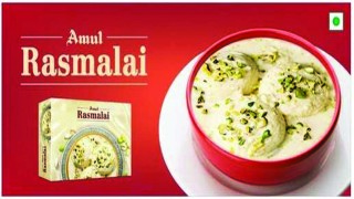 Launch of Amul Rasmalai First Time in India