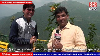 Actor Naresh Walia Interview on Video Shooting at Mussoorie | T-Time Music | BCR NEWS