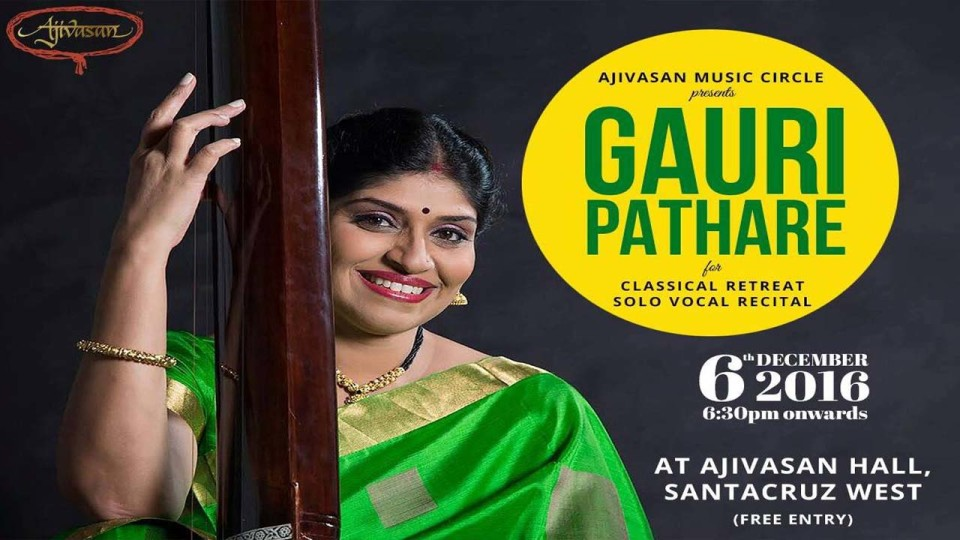 Classical Retreat by Gauri Pathare on 6th December 2016