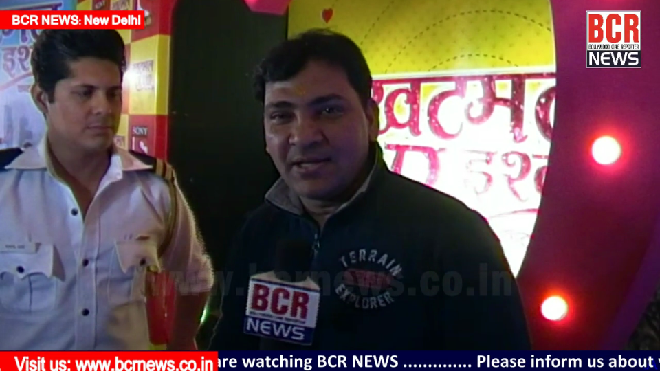 Television News: Khatmal-E-Ishque on SAB Tv| Interview of Vishal Malhotra by Ajay Shastri for BCR NEWS