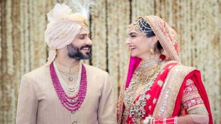 WEDDING AND RECEPTION PICTURES OF SONAM KAPOOR AND ANAND AHUJA