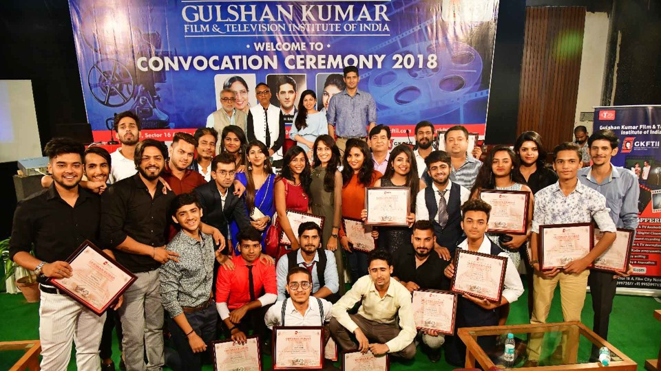 Gulshan Kumar Film & Television Institute of Indiahad its'First Convocation Ceremony' at their campus, located at Film City, Noida!