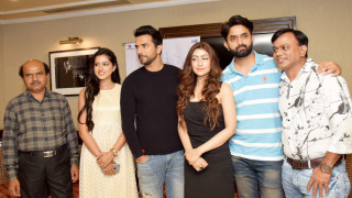 """""""FALSAFA"""" Cast witnessed in Delhi for the promotions!"""