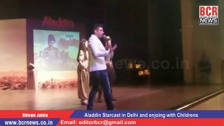 "Sab TV Serial ""Aladdin"" Starcast in Delhi for Promotions and Enjoying with Children's on BCR News"