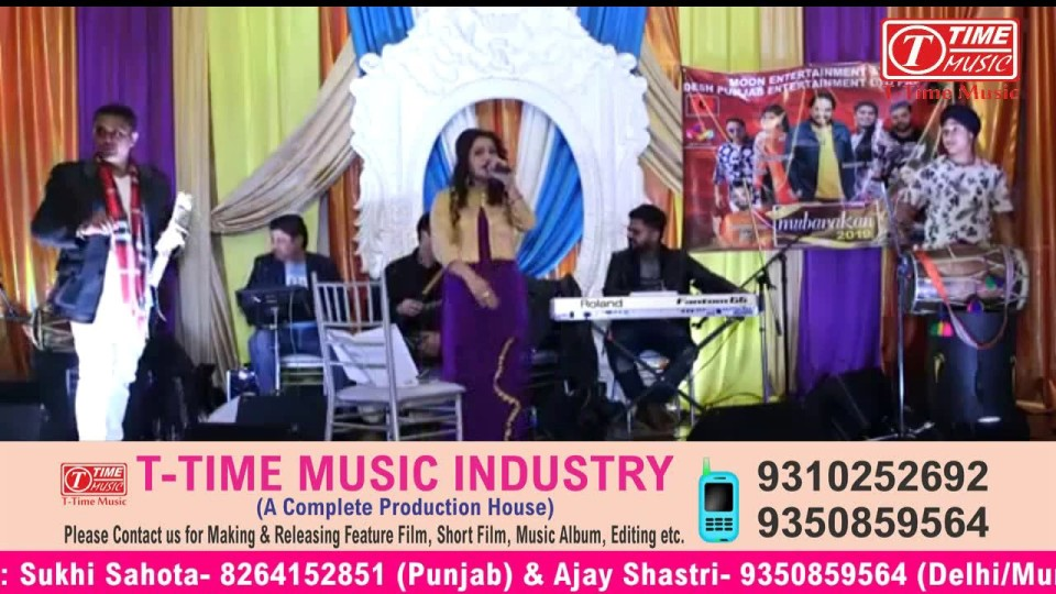 Harmeet Jassi Punjabi Singer Live from Canada on T-Time Music
